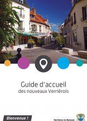 Couverture, Guide d'accueil des nouveaux habitants (2017)