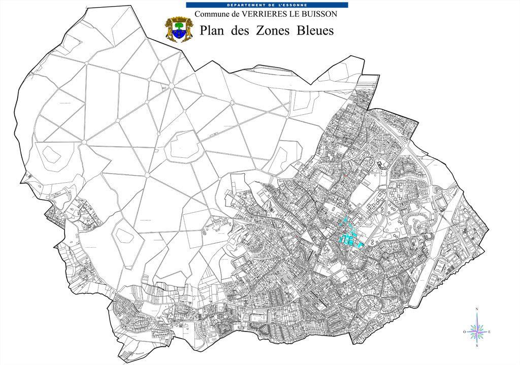 PLU - Les Zones bleues