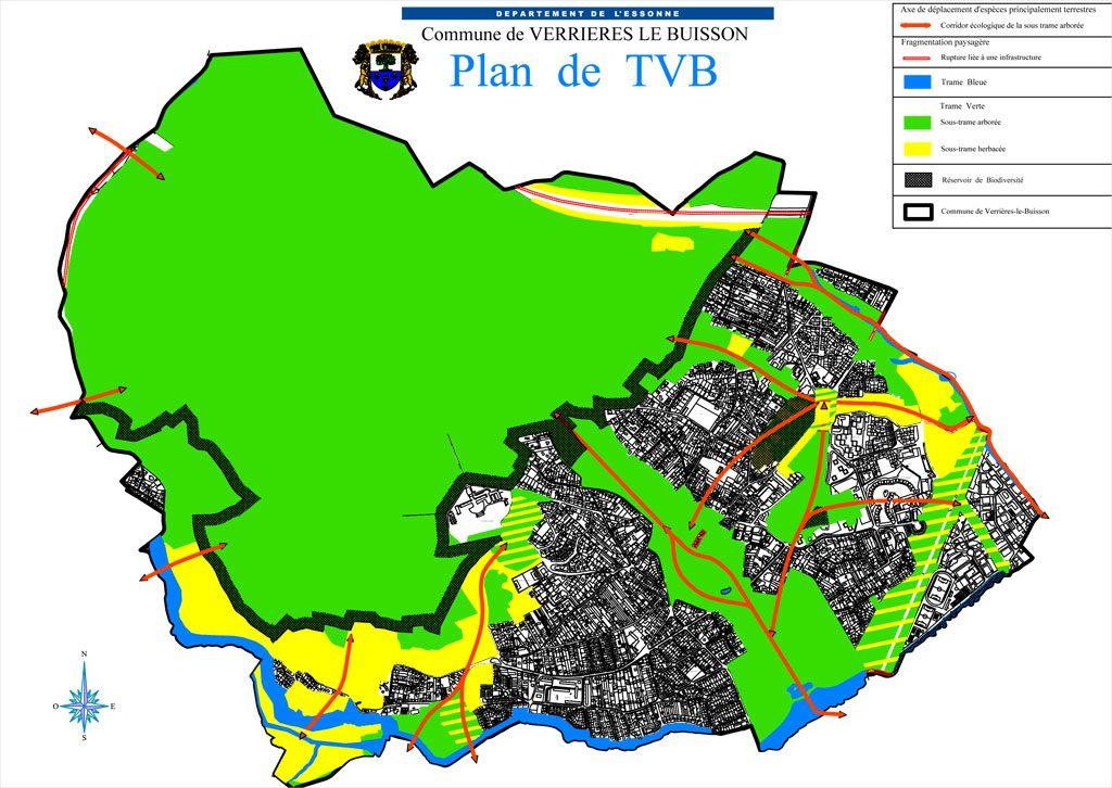 PLU - Plan de la Trame Verte et Bleue