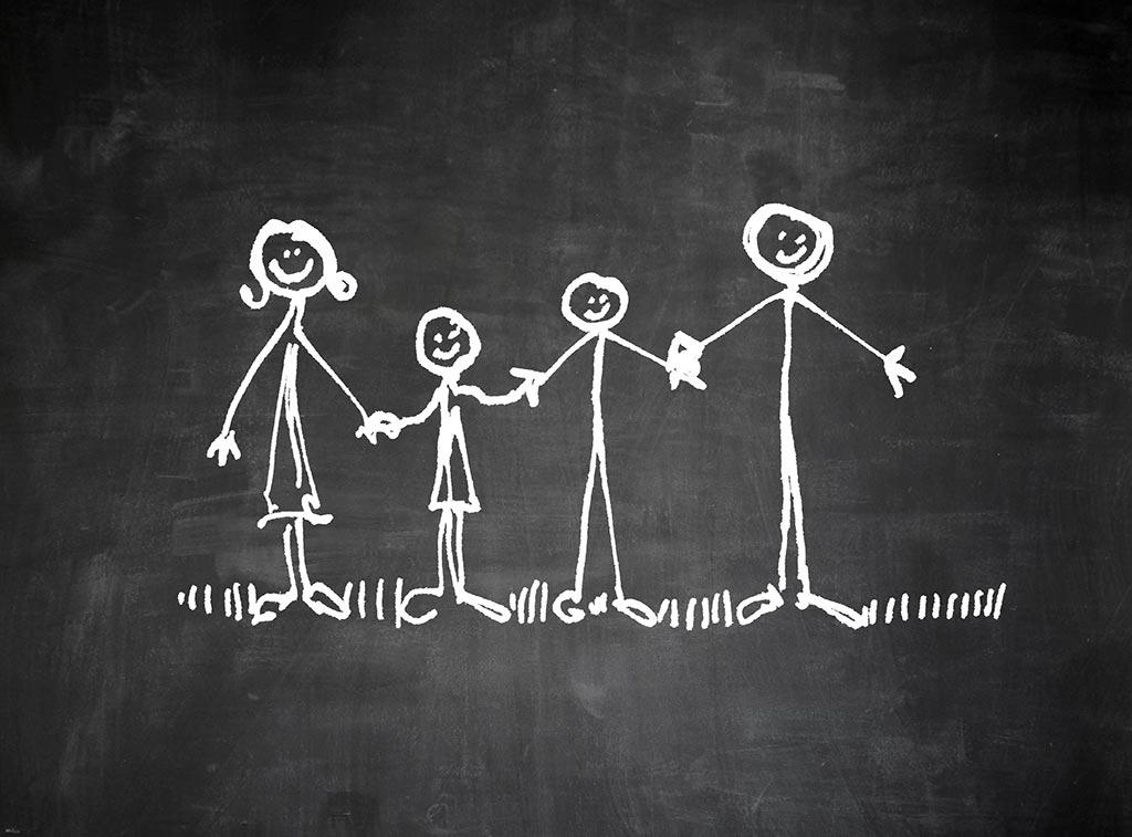 Famille enfants