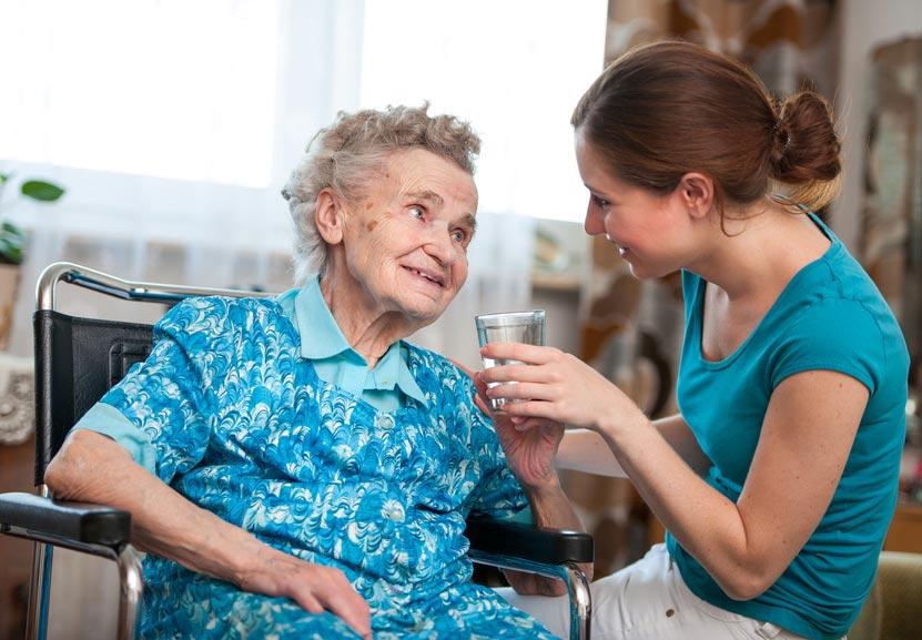 Maintien à domicile, personne âgée