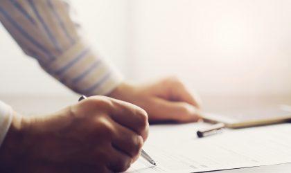 Signature administratif attestation